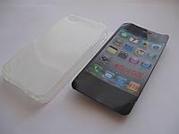 Чехол силиконовый iPhone 4g iPhone 4s белый