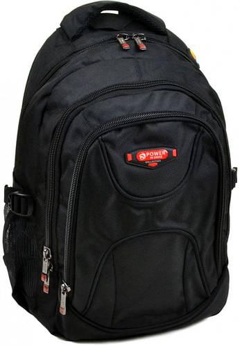 Комфортный мужской городской рюкзак 24 л. Power In Eavas 920 black черный