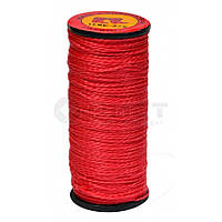 Нитка капронова червона, 10 шт, 375 текс, (Україна)