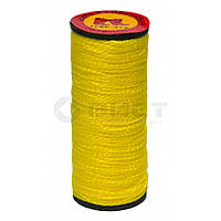 Нитка капронова жовта, 10 шт, 375 текс, (Україна)