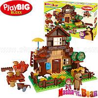 Маша и Медведь конструктор big дом медведя 162 детали от Simba