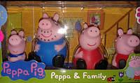 Фигурки семейства Пеппа мультгерои Peppa Pig