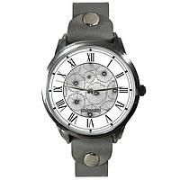 Оригинальные наручные часы. Серебряные цветы