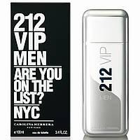 Мужская туалетная вода Carolina Herrera 212 VIP Men, 100 мл