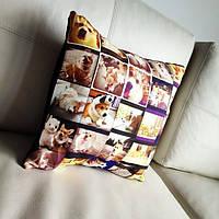 Подушка с вашим фото. отличный подарок