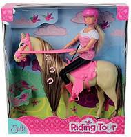 Кукла Штеффи Прогулка верхом на лошадке Simba 5730939