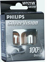 Автолампа Philips 12496SVS2 PY21W SilverVision