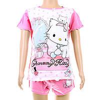 Детская футболка + шортики Charmmy Kitty