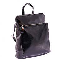 Женский стильный городской рюкзак. Черный.