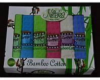 Набор кухонных полотенец Nilteks Кофе цветные 6шт.