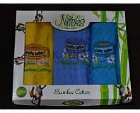 Набор кухонных полотенец Nilteks Кофе цветные 3шт.