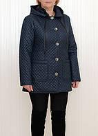 Женская батальная стеганая курточка