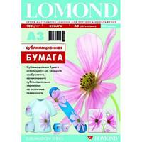 Сублимационная бумага Lomond, А3, 100 г, 50 л. код 0809315