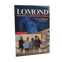 Фотобумага Lomond A4 170 г./кв.м. 20л 1 ст. суперглянец