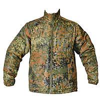 Куртка Flecktarn 2-сторонняя олива Mil-tec