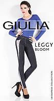 Леггинсы со вставками в джинсовом стиле ТМ GIULIA