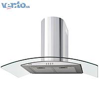 Ventolux Ferrara 90 inox (800) декоративная кухонная вытяжка, нержавеющая сталь / стекло
