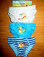 Трусики для мальчиков Disney92/98, 104, 110, 116, 122, 128В упаковке три штуки трусиков.