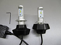 Комплект LED ламп  H7 -G7 головного света  ― альтернатива ксенону в рефлекторную оптику.