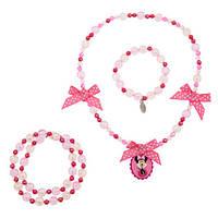 Минни Маус набор аксессуаров (ожерелье и браслет)