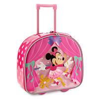 Минни Маус чемодан детский на колесиках