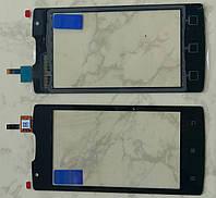 Тачскрін смартфону Lenovo A1000 сенсор оригінальний