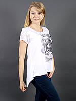 Модная футболка с бантиками на спине