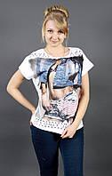 Хлопковая женская футболка