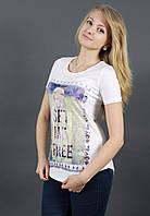 Оригинальная женская футболка на лето