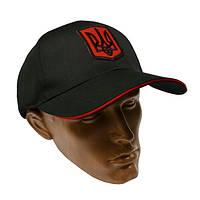 Бейсболка кепка черная герб Украины