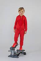 Детский утепленный спортивный костюм для девочки