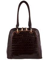 Стильная женская сумка - саквояж. Деловой стиль.