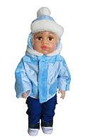 Кукла-мальчик Женечка с комплектом одежды по сезонам . Одень куклу