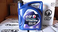 Масло моторное автомобильное Elf Evolution 700 TURBO DIESEL 10w-40 (5 литров)