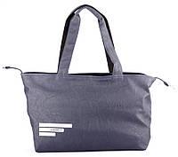Сумка женская Adidas цвет синий с белым логотипом 40х30х14 SOR-591
