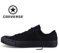 Кеды Converse All Star низкие (Конверс), наличие, размеры, цвет черый