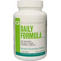 Витамины и минералы Universal Nutrition Daily Formula  100tabs