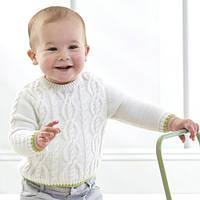 Детский вязаный свитер, Natures Knits