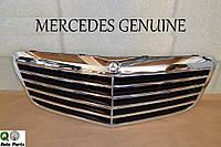 Новая оригинальная решётка радиатора Авангард Avantgarde Mercedes W211 рестайлинг