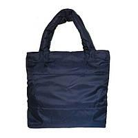 Стеганая сумка на синтепоне большая