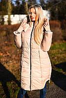 Пальто-пуховик № 7067 цвета