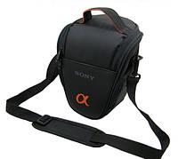 Сумка - чехол Sony Alpha. Полуспортивная, удобная сумка. Компактная сумка для фотоаппаратов. Код: КЕ379