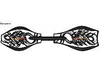 Двухколесный скейт (Рипстик) RipStik Classic Limited Edition Serpent