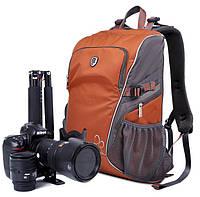 Фоторюкзак универсальный. Полуспортивный, удобный рюкзак. Компактный рюкзак для фототехники. Код: КЕ382