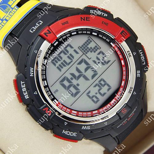 Многофункциональные спортивные наручные часы Q&Q m131j001y 1052-0021