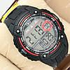 Яркие спортивные наручные часы Q&Q m075j002y 1052-0027