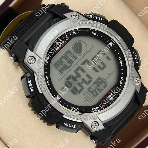 Функциональные спортивные наручные часы Q&Q m119j002y 1052-0033