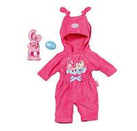 Комбинезон Веселый зайчик для куклы Baby Born Zapf Creation 820841