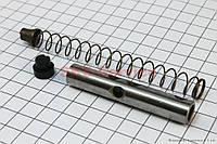 Направляющие цепи распредвала втулка + пружина на мопед Дельта