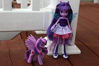 Кукла Девочки Эквестрии Твайлай My Little Pony Equestria Girls Twilight Sparkle Doll and Pony Set